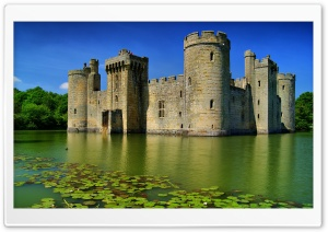 Medieval Castle HD Wide Wallpaper for Widescreen
