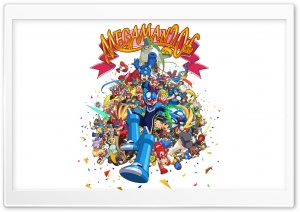 MegaMan 20th HD Wide Wallpaper for Widescreen