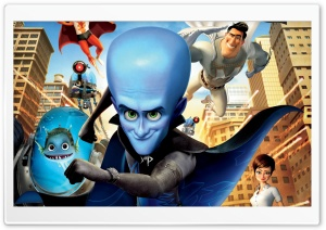 Megamind HD Wide Wallpaper for 4K UHD Widescreen desktop & smartphone