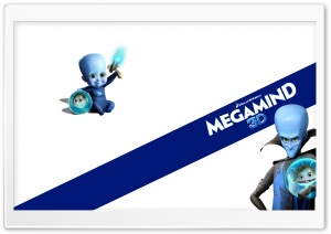 Megamind Movie HD Wide Wallpaper for Widescreen