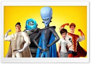 Megamind Movie 2010 HD Wide Wallpaper for 4K UHD Widescreen desktop & smartphone