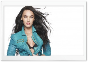 Megan Fox HD Wide Wallpaper for Widescreen