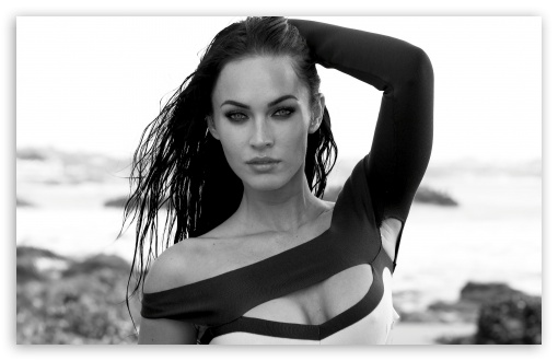 Megan Fox Black And White HD wallpaper for Wide 16:10 5:3 Widescreen WHXGA WQXGA WUXGA WXGA WGA ; HD 16:9 High Definition WQHD QWXGA 1080p 900p 720p QHD nHD ; Standard 4:3 5:4 3:2 Fullscreen UXGA XGA SVGA QSXGA SXGA DVGA HVGA HQVGA devices ( Apple PowerBook G4 iPhone 4 3G 3GS iPod Touch ) ; Tablet 1:1 ; iPad 1/2/Mini ; Mobile 4:3 5:3 3:2 16:9 5:4 - UXGA XGA SVGA WGA DVGA HVGA HQVGA devices ( Apple PowerBook G4 iPhone 4 3G 3GS iPod Touch ) WQHD QWXGA 1080p 900p 720p QHD nHD QSXGA SXGA ; Dual 5:4 QSXGA SXGA ;