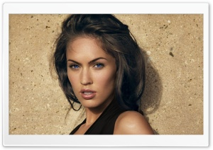 Megan Fox Blue Eyes HD Wide Wallpaper for Widescreen
