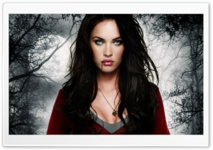 Megan Fox Halloween HD Wide Wallpaper for 4K UHD Widescreen desktop & smartphone