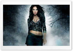 Megan Fox Vampire HD Wide Wallpaper for Widescreen