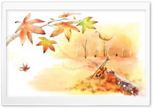 Melancholy Of Autumn HD Wide Wallpaper for Widescreen