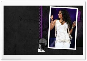 Melanie Brown Singing HD Wide Wallpaper for Widescreen