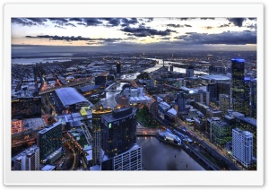 Melbourne HD Wide Wallpaper for Widescreen