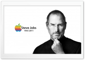 Memorial Steve Jobs HD Wide Wallpaper for Widescreen