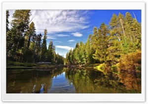 Merced River, Yosemite HD Wide Wallpaper for Widescreen