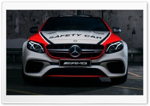 Mercedes-AMG E63 S 4MATIC Safety Car 2018 HD Wide Wallpaper for 4K UHD Widescreen desktop & smartphone