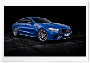 Mercedes AMG GT 4 door Coupe 2018 HD Wide Wallpaper for 4K UHD Widescreen desktop & smartphone