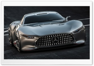 Mercedes Benz AMG Vision Gran Turismo Concept HD Wide Wallpaper for Widescreen
