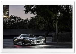 Mercedes Benz AMG Vision Gran Turismo Evening HD Wide Wallpaper for Widescreen