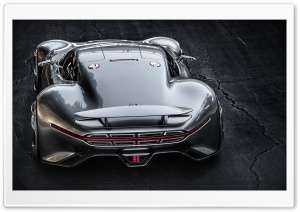 Mercedes Benz AMG Vision Gran Turismo Rear HD Wide Wallpaper for Widescreen