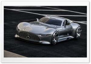Mercedes Benz AMG Vision Supercar HD Wide Wallpaper for Widescreen