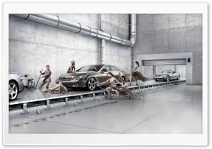 Mercedes Benz Assembly Line Ultra HD Wallpaper for 4K UHD Widescreen desktop, tablet & smartphone