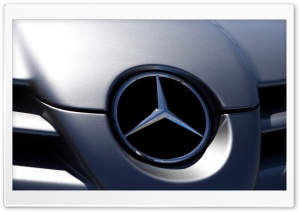 Mercedes Benz Badge Ultra HD Wallpaper for 4K UHD Widescreen desktop, tablet & smartphone