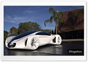 Mercedes Benz Biome HD Wide Wallpaper for Widescreen
