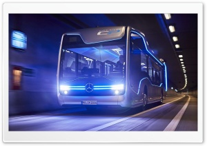 Mercedes Benz Bus 2016 HD Wide Wallpaper for Widescreen