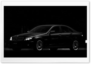 Mercedes-Benz C63 AMG HD Wide Wallpaper for Widescreen