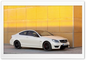 Mercedes Benz C63 Amg Coupe HD Wide Wallpaper for Widescreen
