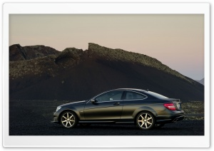 Mercedes Benz C Coupe HD Wide Wallpaper for Widescreen