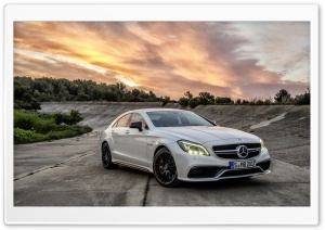 Mercedes-Benz CLS 63 AMG 2014 HD Wide Wallpaper for 4K UHD Widescreen desktop & smartphone