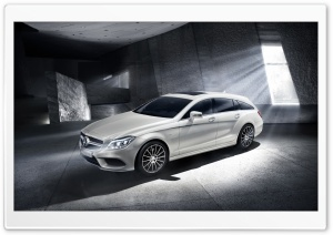 Mercedes-Benz CLS Shooting Brake Final Edition HD Wide Wallpaper for Widescreen