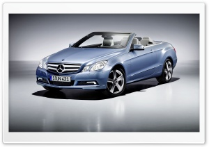 Mercedes Benz E Class Cabriolet HD Wide Wallpaper for Widescreen
