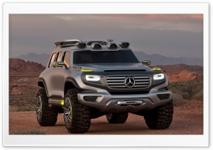 Mercedes-Benz Ener-G-Force HD Wide Wallpaper for Widescreen