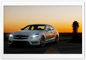 Mercedes-Benz Luxury Car HD Wide Wallpaper for Widescreen