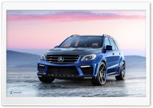 Mercedes Benz ML 63 AMG Inferno HD Wide Wallpaper for Widescreen
