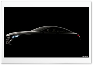 Mercedes Benz S Class Coupe Concept HD Wide Wallpaper for Widescreen