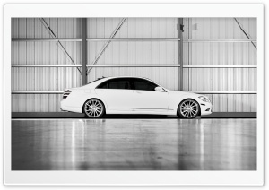 Mercedes-Benz S-Class S550 White HD Wide Wallpaper for Widescreen
