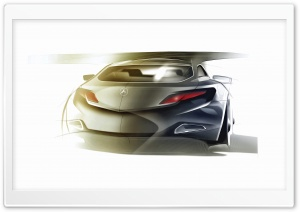 Mercedes Benz Sketch 1 HD Wide Wallpaper for Widescreen