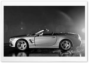 Mercedes-Benz SL500 HD Wide Wallpaper for Widescreen