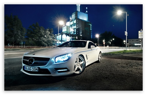 Mercedes Benz SL500, Night HD wallpaper for Wide 16:10 5:3 Widescreen WHXGA WQXGA WUXGA WXGA WGA ; HD 16:9 High Definition WQHD QWXGA 1080p 900p 720p QHD nHD ; Standard 4:3 5:4 3:2 Fullscreen UXGA XGA SVGA QSXGA SXGA DVGA HVGA HQVGA devices ( Apple PowerBook G4 iPhone 4 3G 3GS iPod Touch ) ; Tablet 1:1 ; iPad 1/2/Mini ; Mobile 4:3 5:3 3:2 16:9 5:4 - UXGA XGA SVGA WGA DVGA HVGA HQVGA devices ( Apple PowerBook G4 iPhone 4 3G 3GS iPod Touch ) WQHD QWXGA 1080p 900p 720p QHD nHD QSXGA SXGA ;