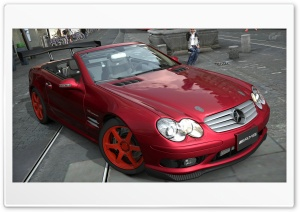 Mercedes Benz SL55 HD Wide Wallpaper for Widescreen