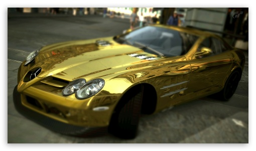 Mercedes Benz SLR McLaren Gold HD wallpaper for HD 16:9 High Definition WQHD QWXGA 1080p 900p 720p QHD nHD ; UHD 16:9 WQHD QWXGA 1080p 900p 720p QHD nHD ; Mobile 16:9 - WQHD QWXGA 1080p 900p 720p QHD nHD ;