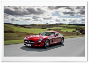 Mercedes Benz SLS AMG HD Wide Wallpaper for 4K UHD Widescreen desktop & smartphone
