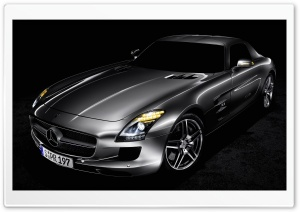 Mercedes Benz SLS AMG HD Wide Wallpaper for Widescreen