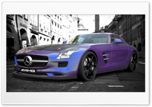 Mercedes-Benz SLS AMG HD Wide Wallpaper for 4K UHD Widescreen desktop & smartphone