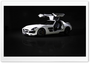 Mercedes Benz SLS AMG Brabus HD Wide Wallpaper for Widescreen