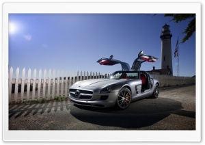 Mercedes Benz SLS AMG Car HD Wide Wallpaper for 4K UHD Widescreen desktop & smartphone
