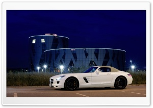 Mercedes Benz SLS AMG Convertible HD Wide Wallpaper for Widescreen