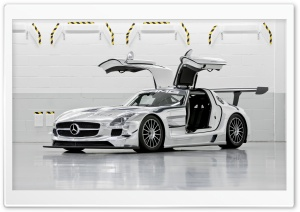 Mercedes Benz SLS AMG GT3 HD Wide Wallpaper for 4K UHD Widescreen desktop & smartphone