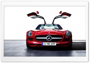 Mercedes-Benz SLS AMG Gullwing 2011 HD Wide Wallpaper for Widescreen