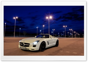 Mercedes Benz SLS AMG Roadster HD Wide Wallpaper for 4K UHD Widescreen desktop & smartphone